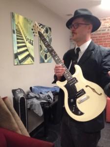 new guitar selfie